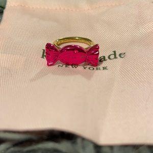 Kate Spade Bow Ring, Sz 8.